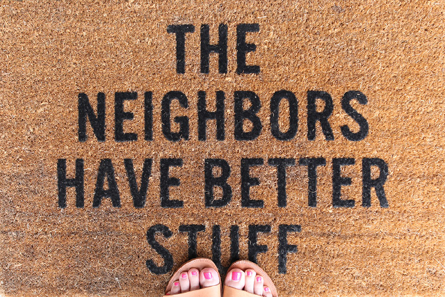 the neighbors have better stuff doormat