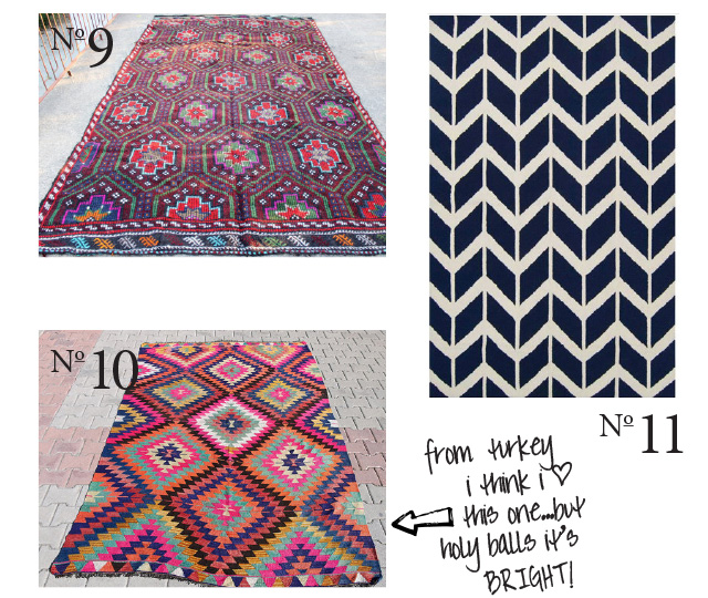 hip rugs for a foyer