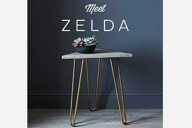 the zelda table by katy skelton