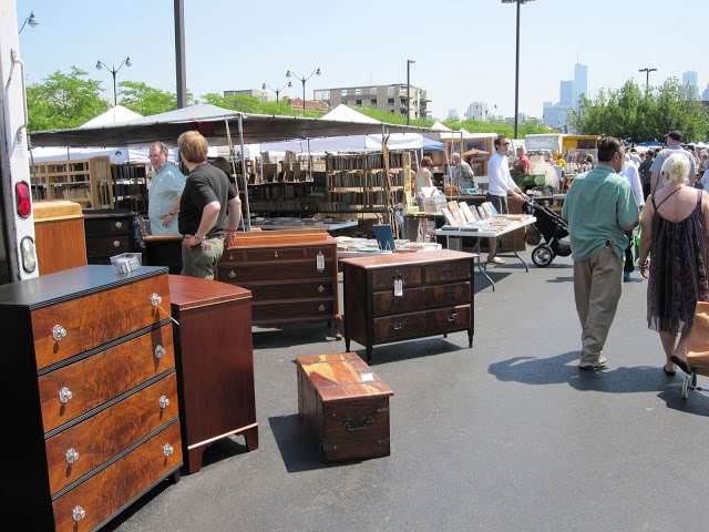 The Randolph Street Flea Market