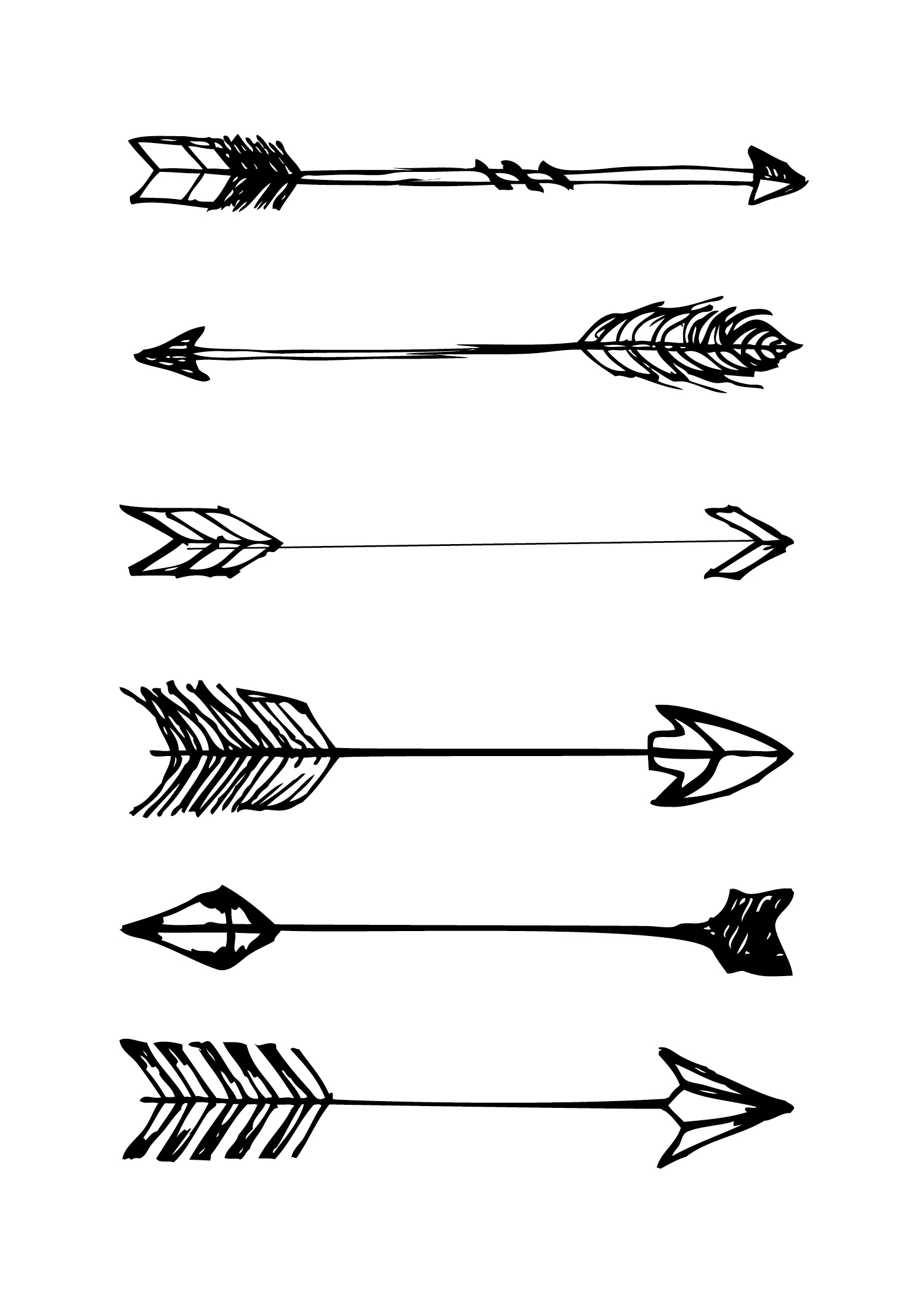 picture about Printable Arrow titled Totally free Printables - Area Of Hipsters