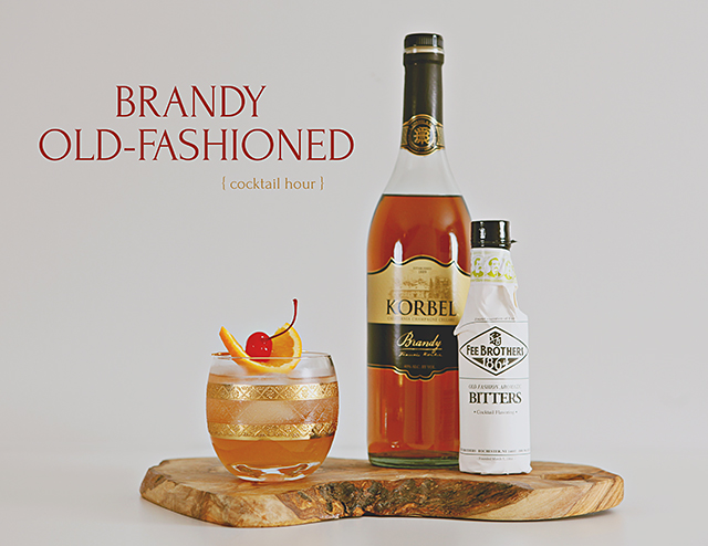 Korbel Brandy Old Fashioned Recipe