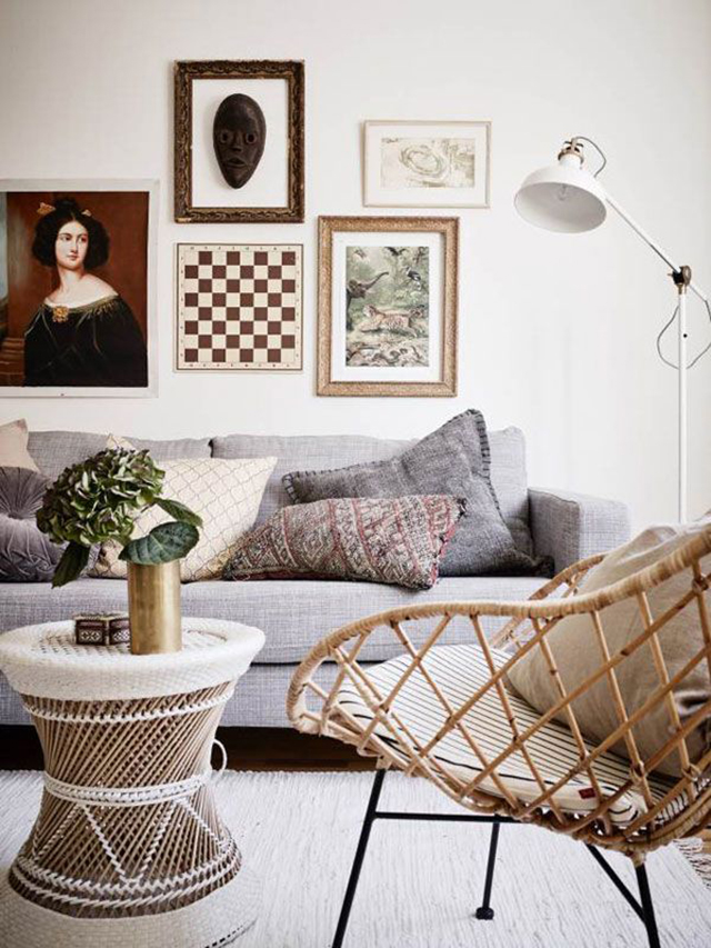 Design Crush Decorating With Rattan