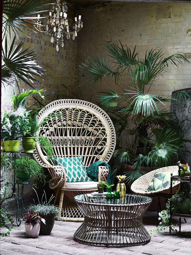 Decorating with Rattan