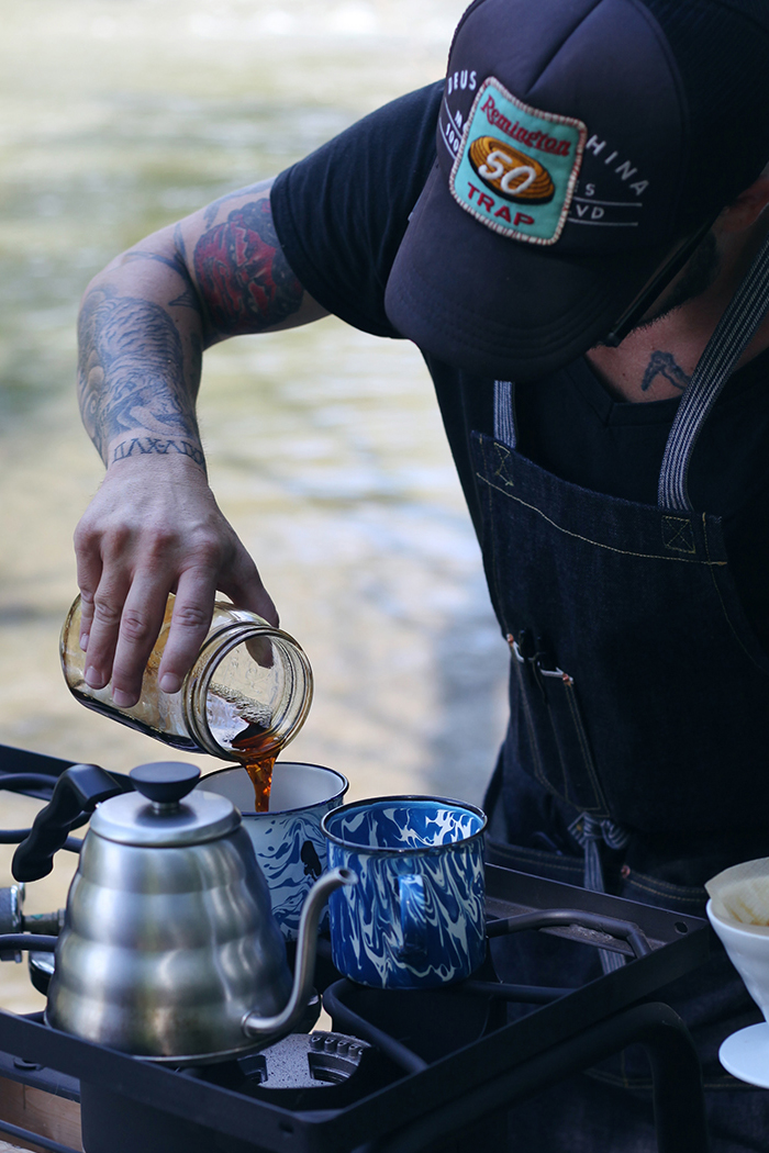 Lodge Coffee Roasters Explorer Coffee Roasting Adventure. Jayson Moyer gets up close and personal talking about his coffee roasting process and where his passion stems from. Here he brews the perfect pourover. Final step to to pour, sip and enjoy.