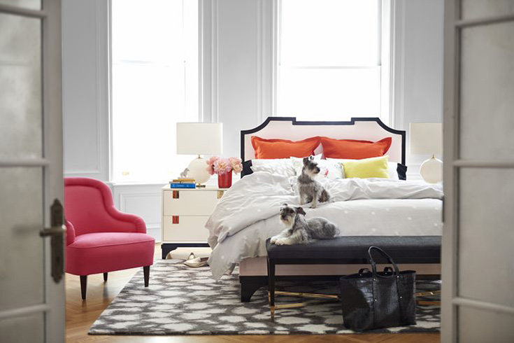 Kate-Spade-Home-Decor-Bedroom - House Of Hipsters