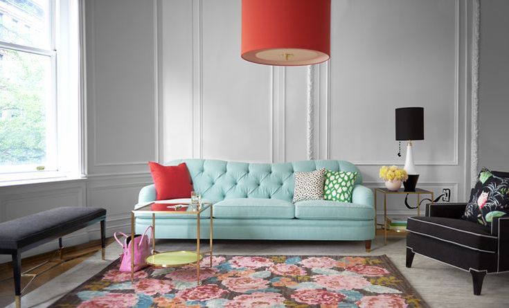 Kate-Spade-Home-Decor-Living-Sofa - House Of Hipsters