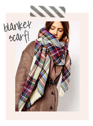 House Of Hipsters Style - Blanket Scarf - Currently Obsessed, Street Style