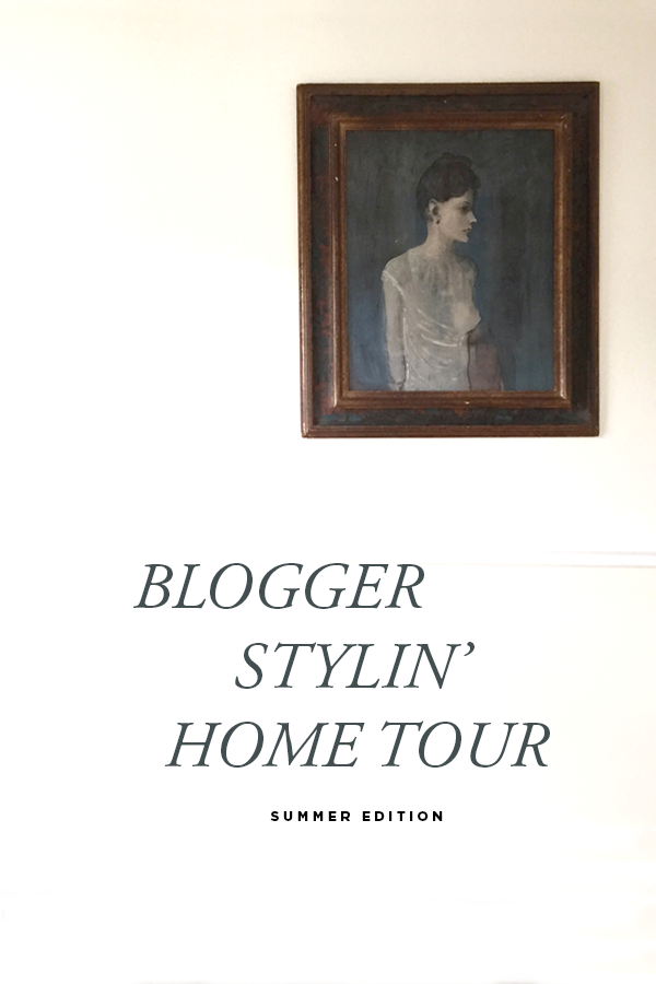 Blogger Stylin Home Tour - Summer Edition