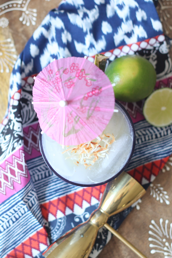 Lime In The Coconut Cocktail Recipe - Great summer drink or tropical outdoor summer party! Enjoy the tropics any day with this twist on a Piña Colada. Aloha Hawaii!