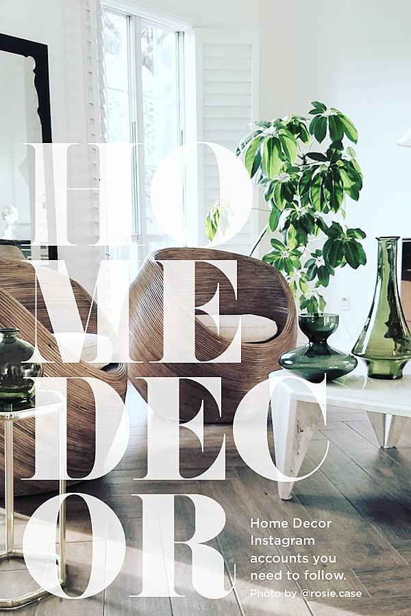 7 Home Decor Instagram Accounts to Follow