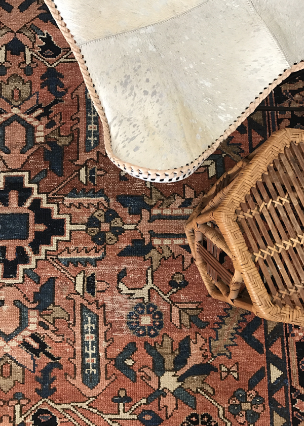 Makers & Shakers — The Rug Collector Kim Gunter The Woven Abode