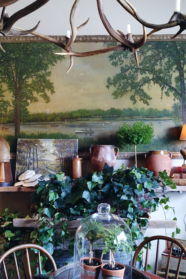 Vignette Styling at Steeplechase Antiques