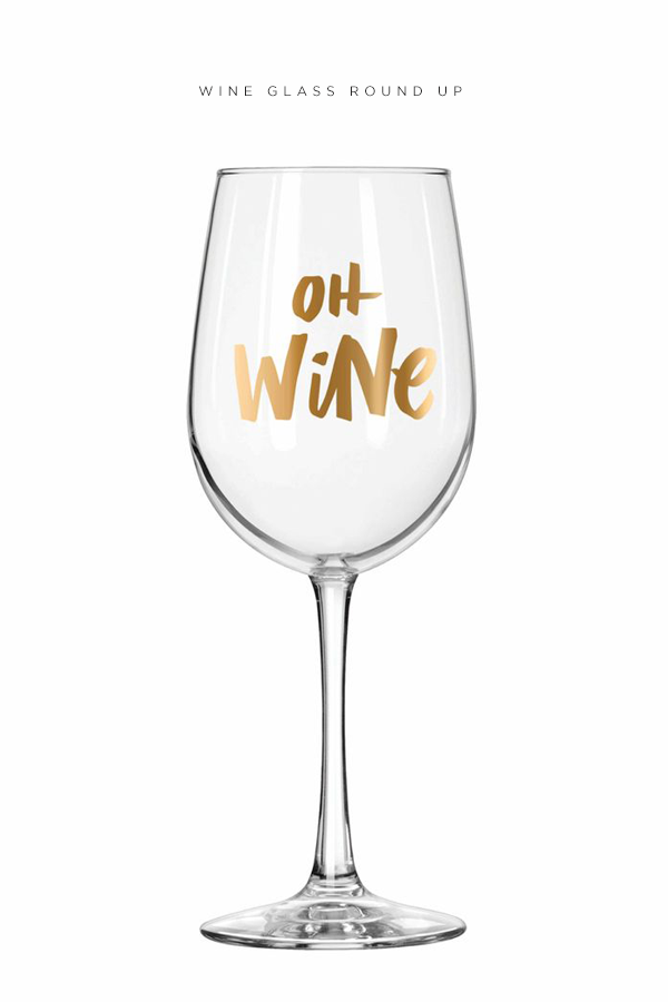 Wine Glasses - Round Up