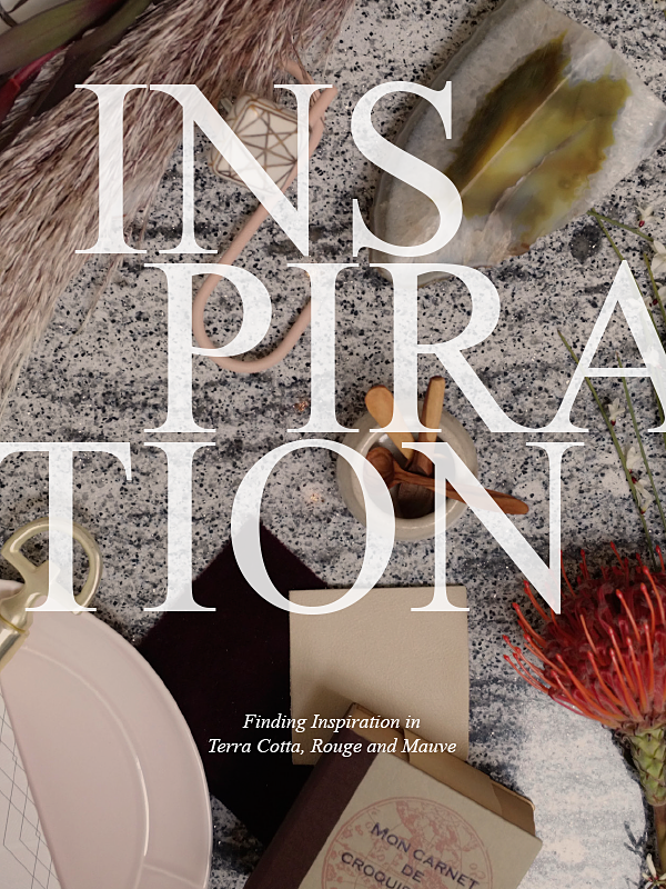 Finding Inspiration — Now Trending Terra Cotta, Rouge, Mauve