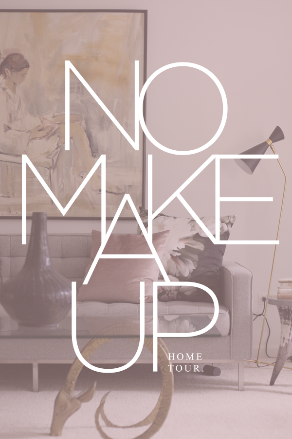 No Makeup Home Tour hosted by House of Hipsters — what a blogger's home looks like in real life.