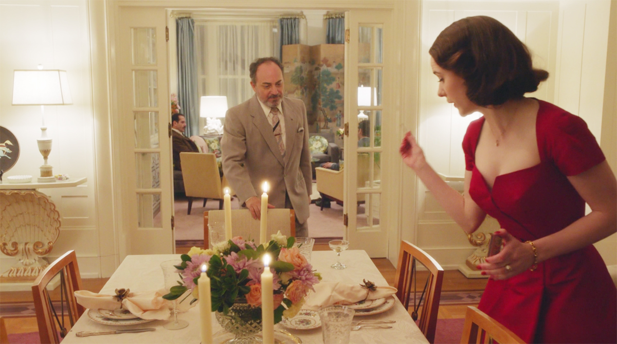 Mrs. Maisel and her Mid-Century Modern style - dining room