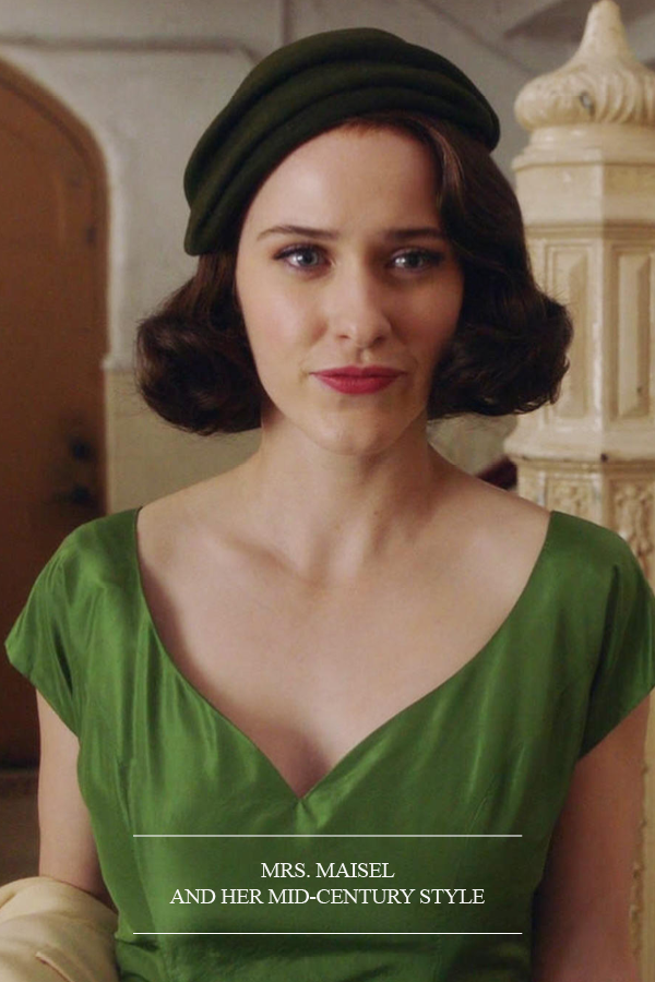 Mrs. Maisel and her Mid-Century Modern style home decor