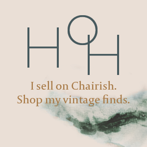 House of Hipsters sells vintage home decor on Chairish.