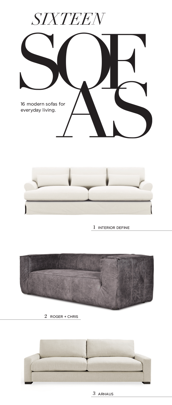 16 Modern Sofas I Want In My Living Room