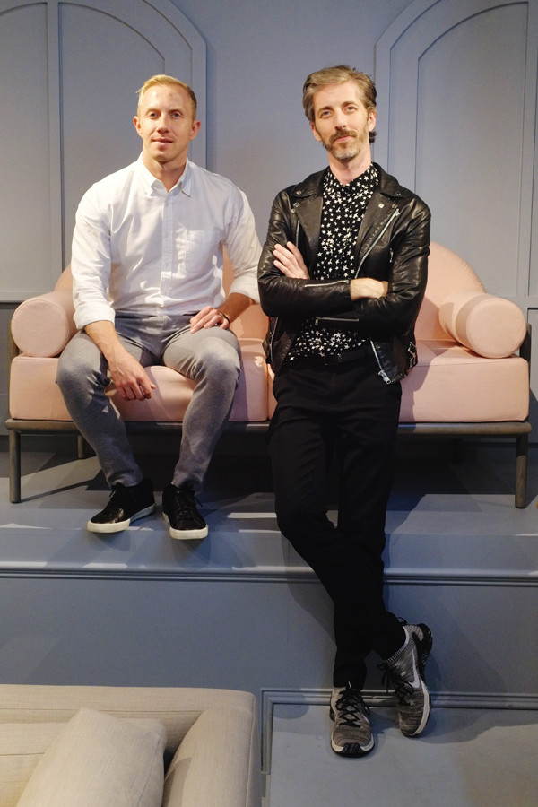 Consort Furniture Co-Founders Brandon Quattrone and Mat Sanders