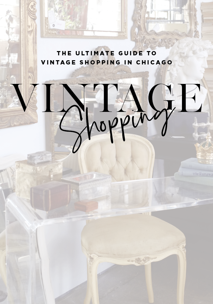 The ultimate guide to shopping vintage in Chicago. Read more on House Of Hipsters