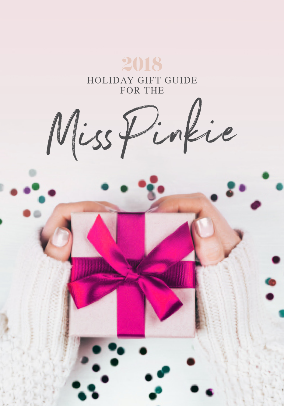 Holiday Gift Guide for Pink Lovers