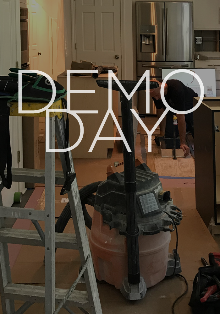 Demo has started on the kitchen. Sharing my tips for a smooth renovation and free PDF checklist.
